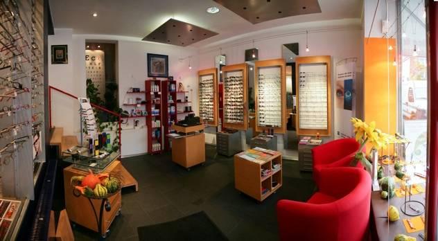 Optiker Darmstadt: Optiker Resch - Blick ins Ladengeschäft